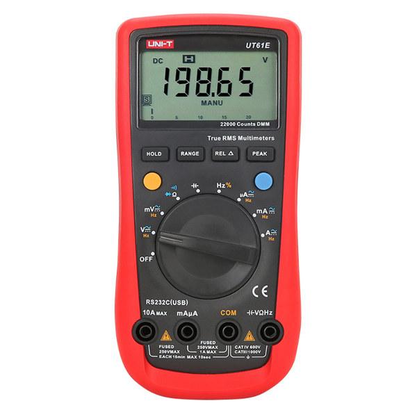 Digital Multimeter UT61E - Autoranging (RS232)