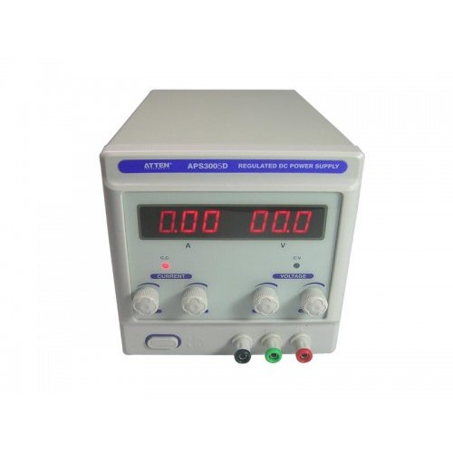 APS3005D Single Channel DC Regulated Power Supply