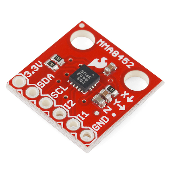 Triple Axis Accelerometer Breakout (MMA8452Q)