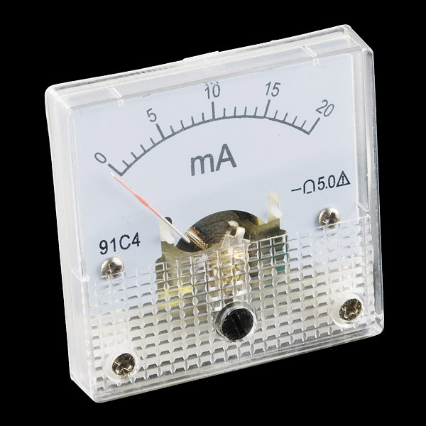 Analoges Einbauinstrument 0 - 20mA