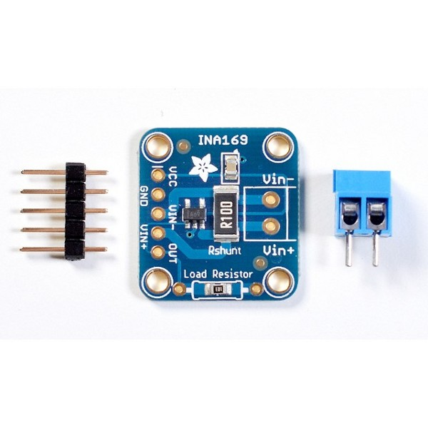 INA169 Analog DC Current Sensor Breakout (60V 5A)