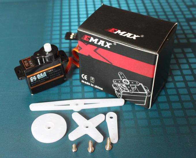 EMAX ES08A Analog Plastics Servo 9g