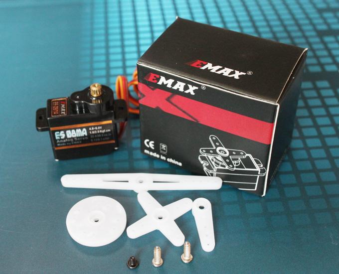 EMAX ES08MA Analog Metal Servo 13g