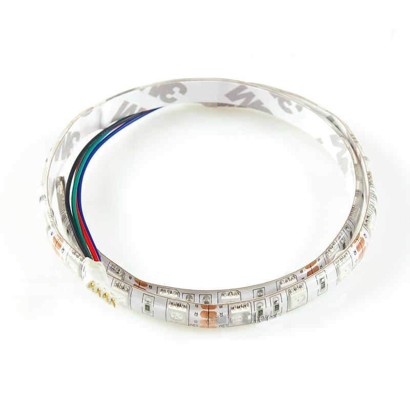 14.4W RGB LED strip 12V waterproof