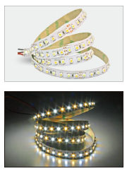 LED Strip 5m 3528(120/m) weiss/warm-weiss