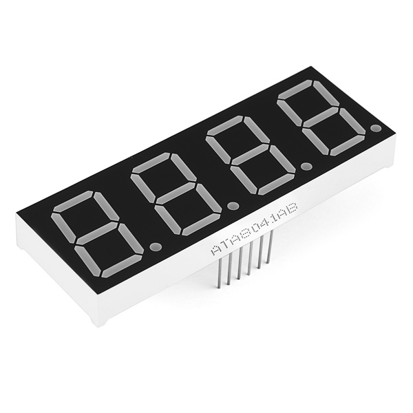 "7-Segment Display - 1"" (Blue)"