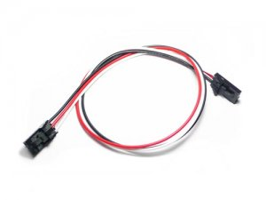 Electronic brick fully buckled 3 wire cable