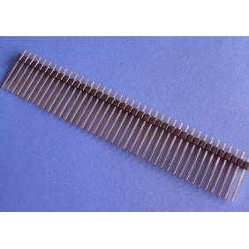 Single 40Pin Headers male (17mm long)