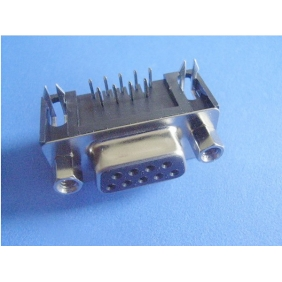 D-Sub Print Connector (f) for PCB 9pole 90�