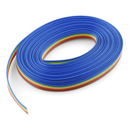 Ribbon Cable - 6 wire (4.5m)