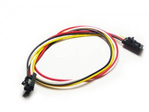 Electronic brick fully buckled 4 wire cable (5 Stk.)
