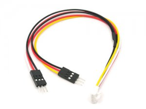 Grove - X2 Servo cable (5 Pcs Pack)