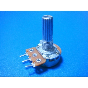 100K Linear Potentiometer 0.5W (14mm Shaft)