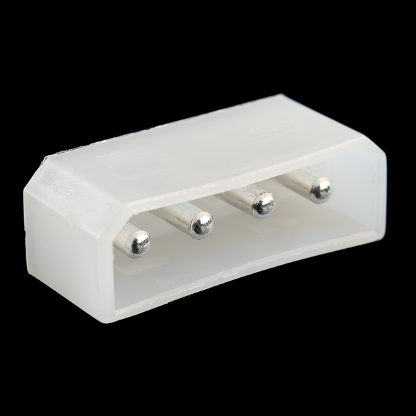 4-Pin Molex Connector - Straight