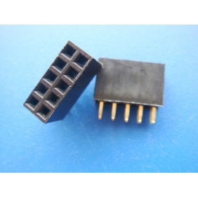 Dual 5-Pin Headers female