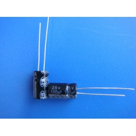 Electrolytic Capacitor 100uF/25V