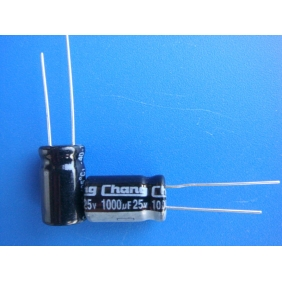 Electrolytic Capacitor 1000uF/25V