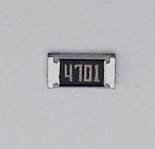 Widerstand 4.7k (SMD 1206)
