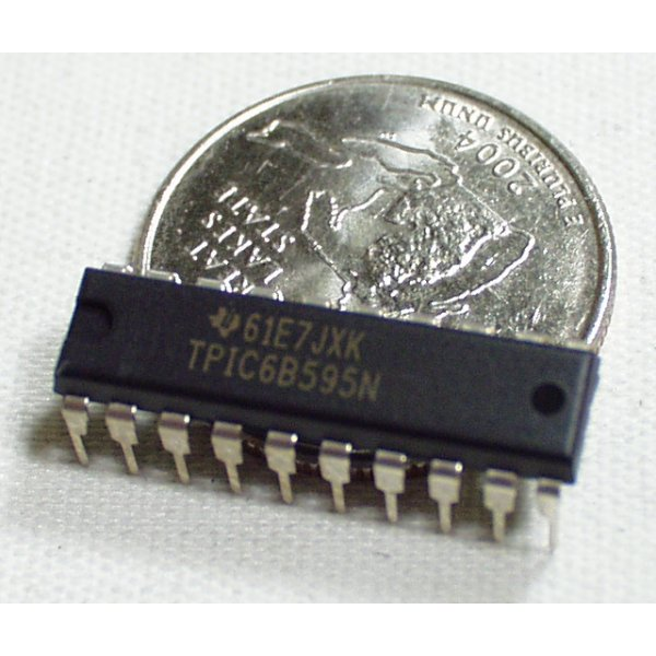 Shift Register 8-Bit High-Power - TPIC6B595