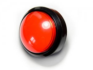 Huge red glowing Push Button