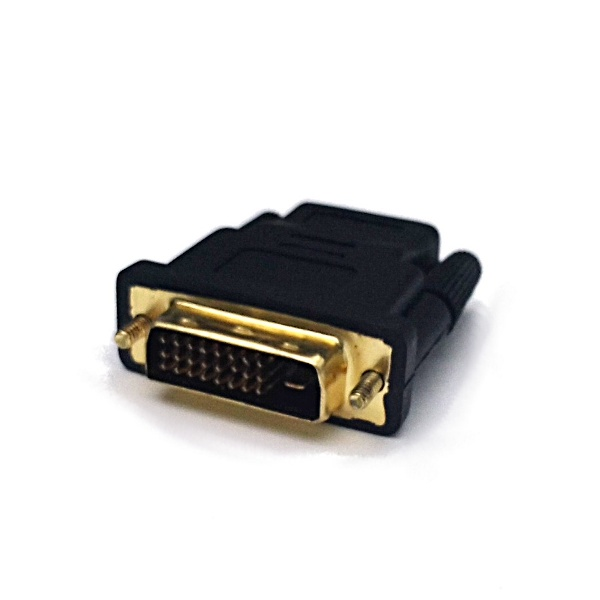 HDMI/F to DVI-D 24+1/M Adapter