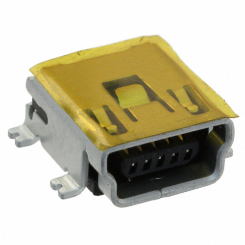 USB Female Mini-B Socket SMD
