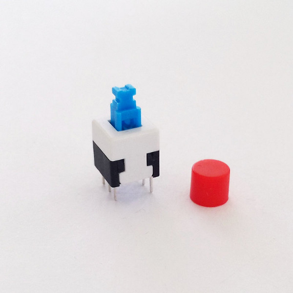 Mini Self Lock Push Switch 6pin - 8x8mm