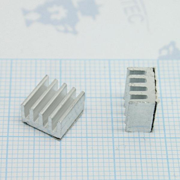 Kühlkörper selbstklebend - 10x10mm