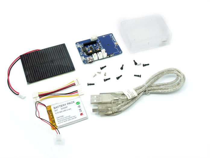 Wireless Sensor Node - Solar Kit