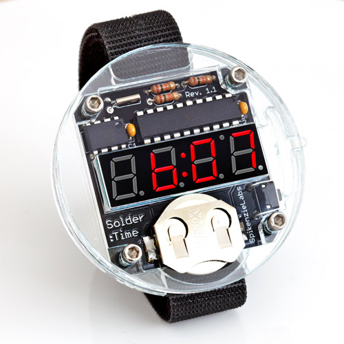 Solder:Time - Watch Kit