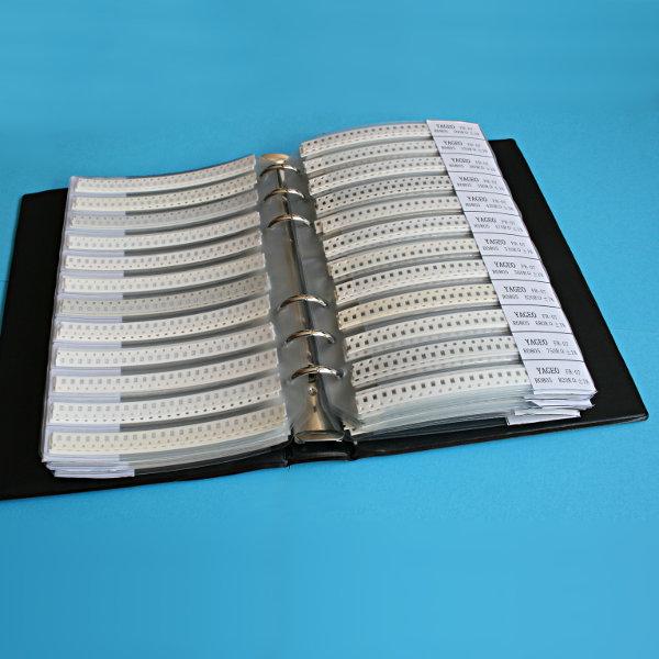 SMD Widerstands Sortimentbuch (8500 Stk) - 0805