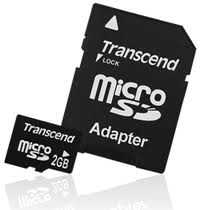 Transcend microSD Card 2GB