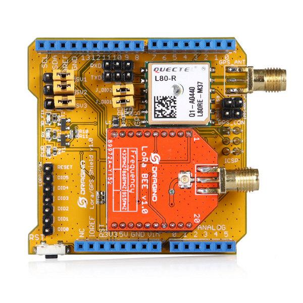 LoRa GPS Shield - 868MHz