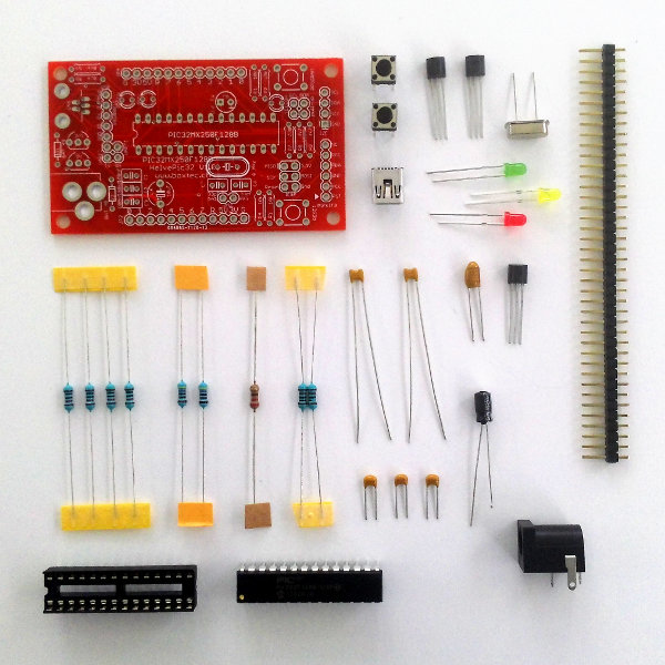 HelvePic32 Kit