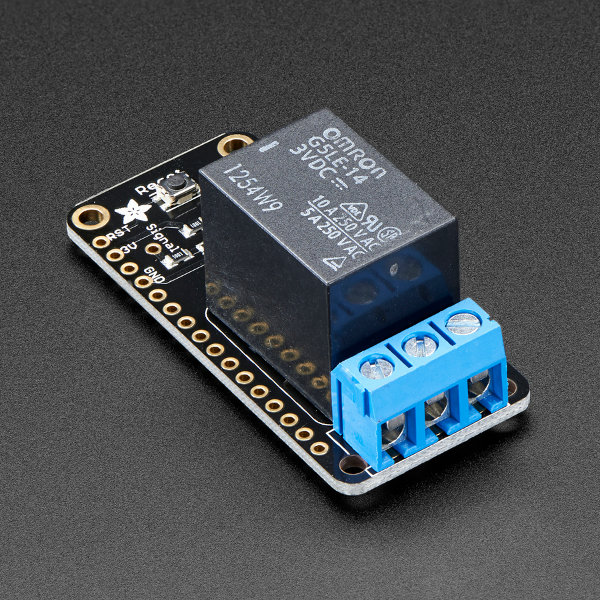 Adafruit Power Relay FeatherWing