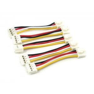 Grove Universal Buckled 4 Pin Cable - 5cm (5pack)