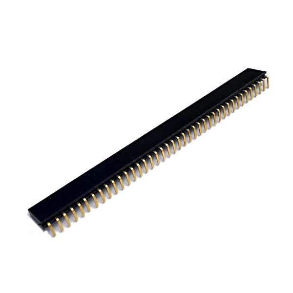 Single 40Pin Headers female 90�