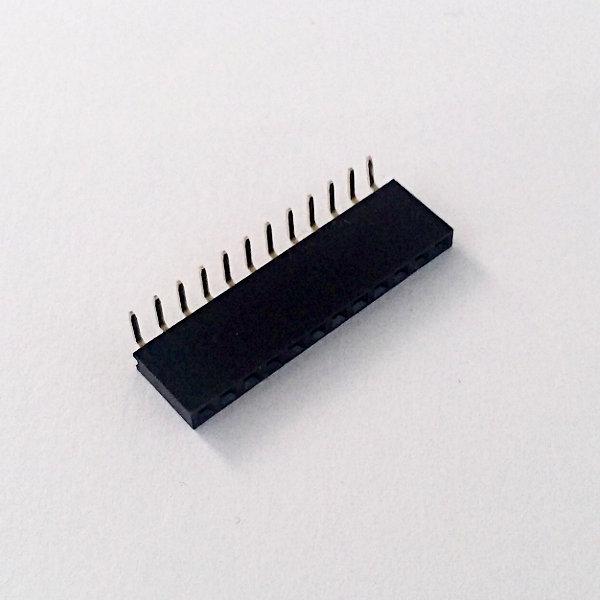 Stiftleistenbuchse 1x12Pin 90°