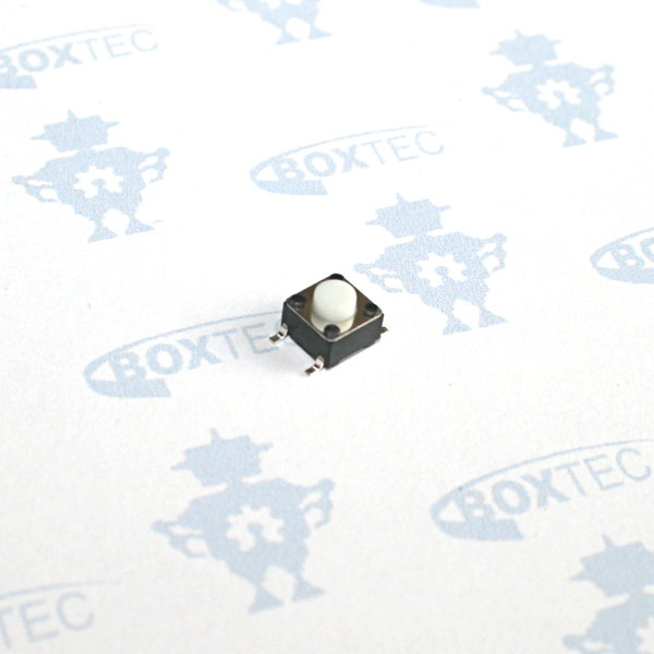 Mini Momentary Push Button Switch SMD (white) - 6x6mm
