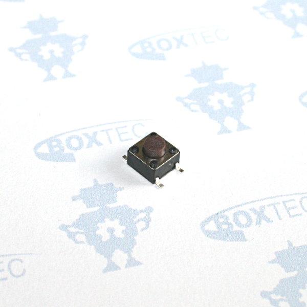 Mini Taster SMD (braun) - 6x6mm