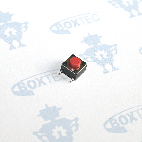Mini Taster SMD (rot) - 6x6mm