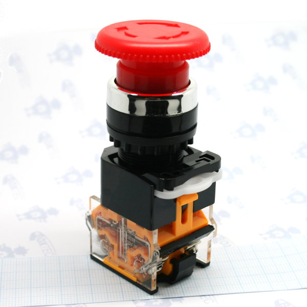 Emergency Stop Switch -1NO/1NC