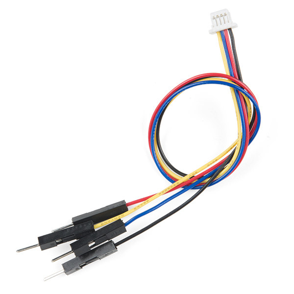 Qwiic Kabel - Breadboard Jumper (4-pin)