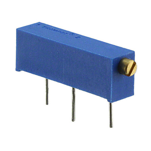 Trimmer Potentiometer 50k - 15 Umdrehungen