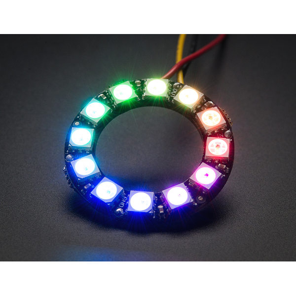 NeoPixel Ring - 12 x WS2812 5050 RGB LED