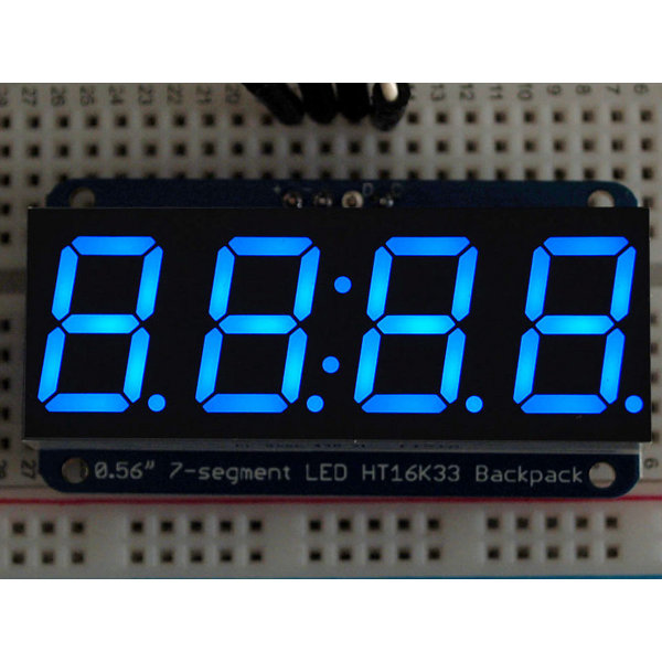 "7-Segment I2C Display 0.56"" 4-Digit - Blue"