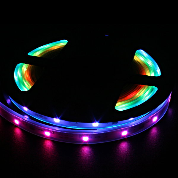 LED NeoPixel Strip 5m (WS2811 - 30LED-10IC/m - wasserfest)