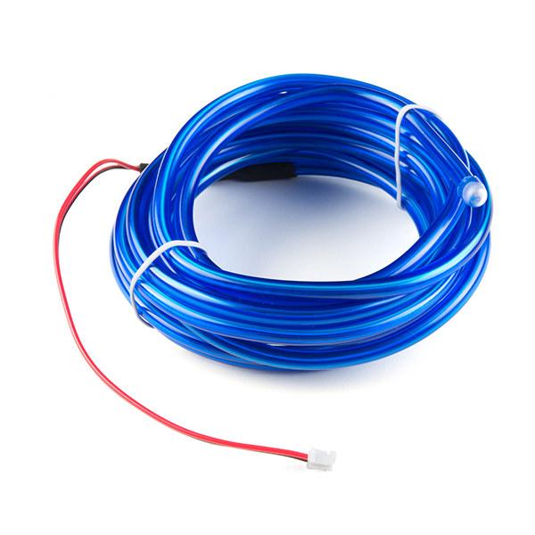 EL Wire bendable - Blue 3m