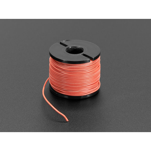 Litze mit Silikon-Isolation - 15.2m 30AWG Rot