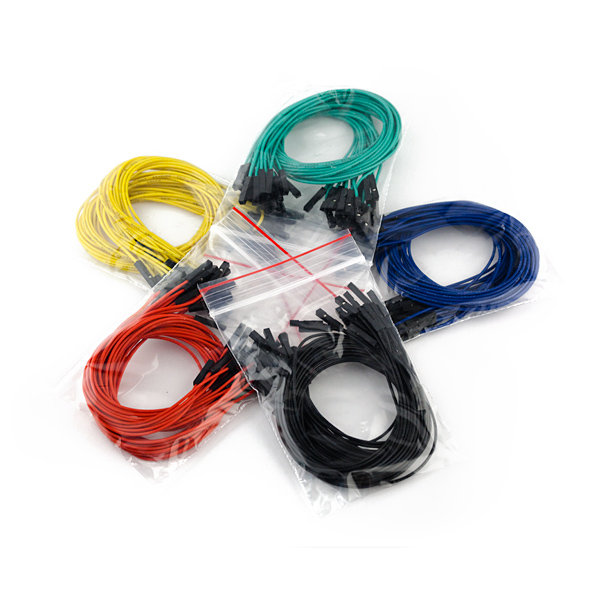 "Jumper Wires Premium 12"" F/F (100pcs)"